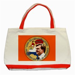 King Willem-Alexander Red Tote Bag