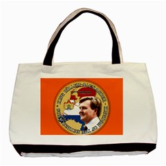 King Willem-Alexander Twin-sided Black Tote Bag