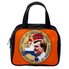 King Willem Alexander Single Sided Satchel Handbag
