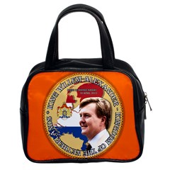 King Willem-Alexander Twin-sided Satched Handbag