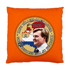 King Willem Alexander Twin Sided Cushion Case