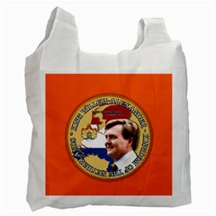 King Willem-Alexander Single-sided Reusable Shopping Bag