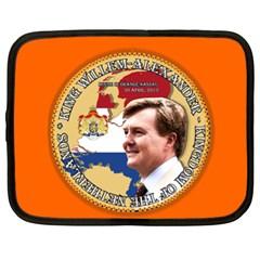 King Willem-Alexander 13  Netbook Case