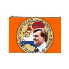 King Willem-Alexander Large Makeup Purse