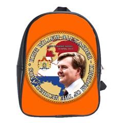 King Willem-Alexander Large School Backpack