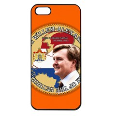 Willem Png2 Apple Iphone 5 Seamless Case (black)