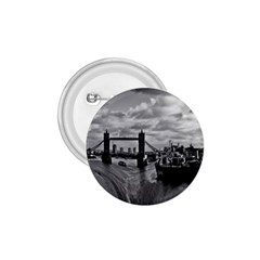 River Thames Waterfall Small Button (Round)