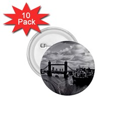 River Thames Waterfall 10 Pack Small Button (Round)