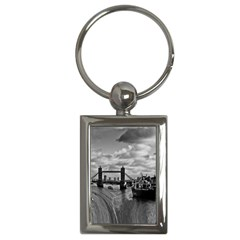 River Thames Waterfall Key Chain (Rectangle)