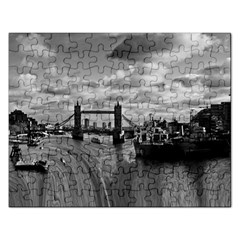 River Thames Waterfall Jigsaw Puzzle (rectangle)