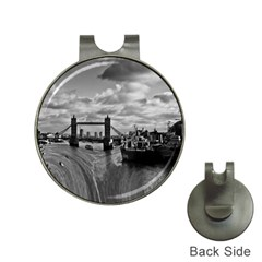 River Thames Waterfall Hat Clip With Golf Ball Marker