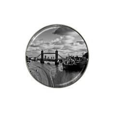 River Thames Waterfall 4 Pack Golf Ball Marker (for Hat Clip)