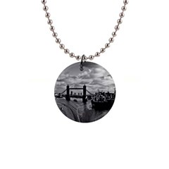 River Thames Waterfall Mini Button Necklace