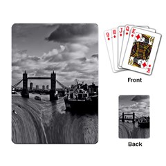 River Thames Waterfall Standard Playing Cards