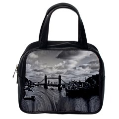 River Thames Waterfall Single Sided Satchel Handbag
