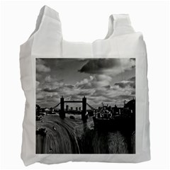 River Thames Waterfall Twin-sided Reusable Shopping Bag
