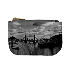 River Thames Waterfall Coin Change Purse