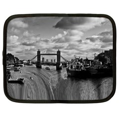 River Thames Waterfall 13  Netbook Case