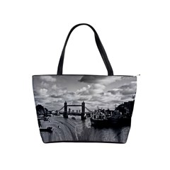 River Thames Waterfall Large Shoulder Bag