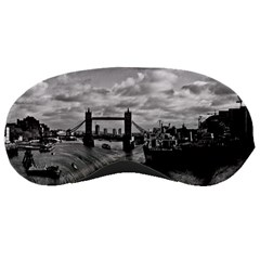River Thames Waterfall Sleep Eye Mask