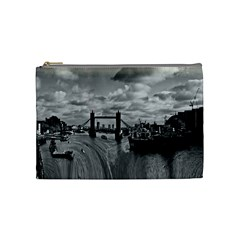 River Thames Waterfall Medium Makeup Purse