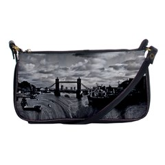 River Thames Waterfall Evening Bag