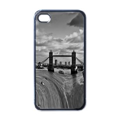 River Thames Waterfall Black Apple iPhone 4 Case