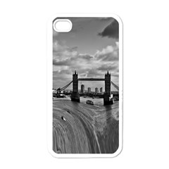 River Thames Waterfall White Apple Iphone 4 Case
