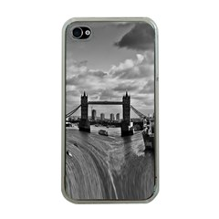 River Thames Waterfall Apple Iphone 4 Case (clear)