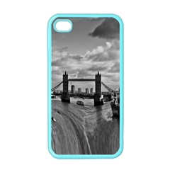 River Thames Waterfall Apple iPhone 4 Case (Color)