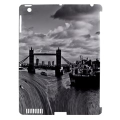 River Thames Waterfall Apple iPad 3/4 Hardshell Case (Compatible with Smart Cover)