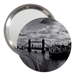 River Thames Waterfall 3  Handbag Mirror