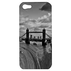 River Thames Waterfall Apple iPhone 5 Hardshell Case