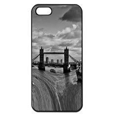 River Thames Waterfall Apple iPhone 5 Seamless Case (Black)