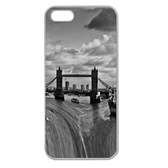 River Thames Waterfall Apple Seamless iPhone 5 Case (Clear)