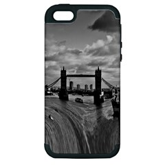 River Thames Waterfall Apple iPhone 5 Hardshell Case (PC+Silicone)