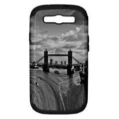 River Thames Waterfall Samsung Galaxy S III Hardshell Case (PC+Silicone)