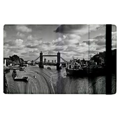 River Thames Waterfall Apple Ipad 3/4 Flip Case