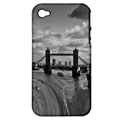 River Thames Waterfall Apple iPhone 4/4S Hardshell Case (PC+Silicone)