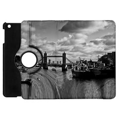 River Thames Waterfall Apple iPad Mini Flip 360 Case