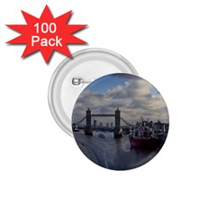 Thames Waterfall Color 100 Pack Small Button (round)