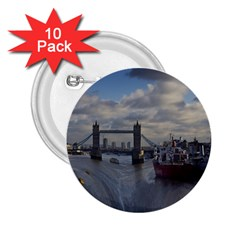 Thames Waterfall Color 10 Pack Regular Button (round)