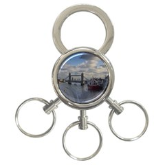 Thames Waterfall Color 3-Ring Key Chain