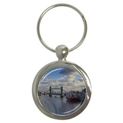 Thames Waterfall Color Key Chain (round)
