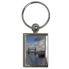 Thames Waterfall Color Key Chain (Rectangle)