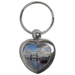 Thames Waterfall Color Key Chain (Heart)