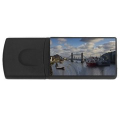 Thames Waterfall Color 2Gb USB Flash Drive (Rectangle)
