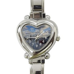 Thames Waterfall Color Classic Elegant Ladies Watch (Heart)