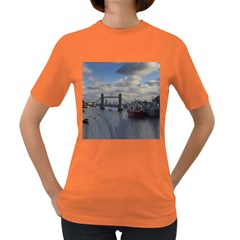 Thames Waterfall Color Dark Colored Womens'' T Shirt