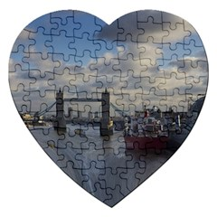 Thames Waterfall Color Jigsaw Puzzle (heart)